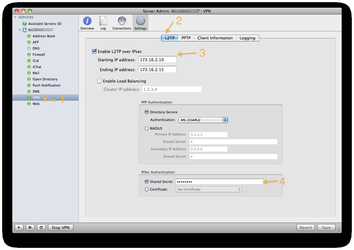 create vpn server mac os x 10.6